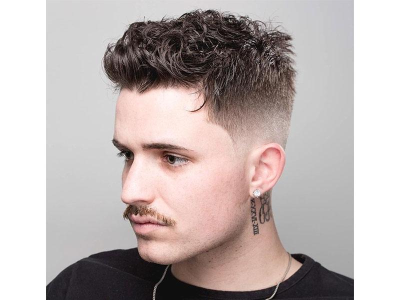 tóc nam ngắn cho mùa hè